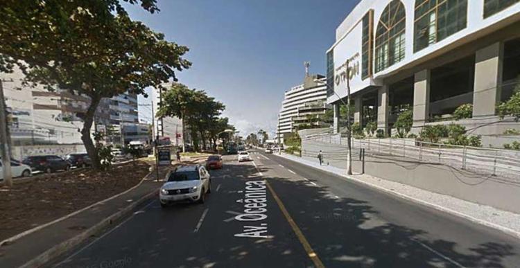 Ação aconteceu nas proximidades do Hotel Othon - Foto: Reprodução | Google Street View