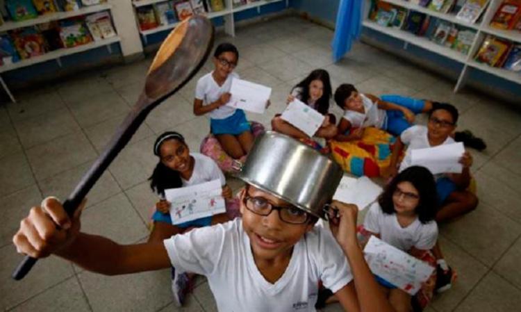 Visão de crianças sobre política é o tema da matéria - Foto: Lúcio Távora | Ag. A TARDE