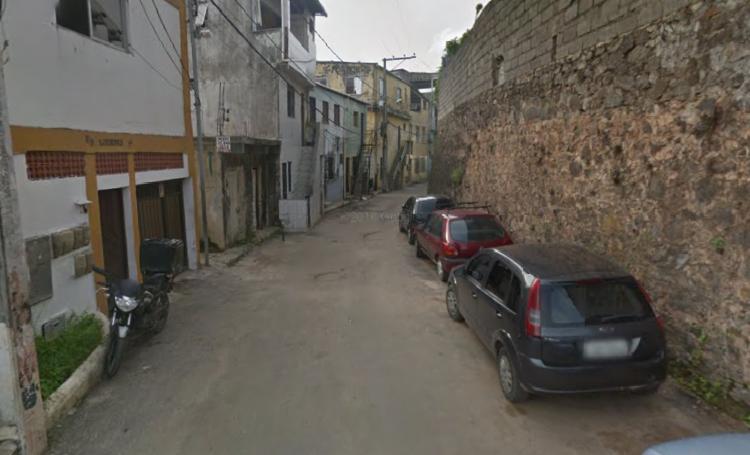 O crime aconteceu na rua Vila da Barra, na Calçada - Foto: Reprodução | Google Maps