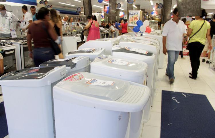 A megaliquidação está marcada para a próxima sexta-feira, 25 - Foto: Joá Souza l Ag. A TARDE