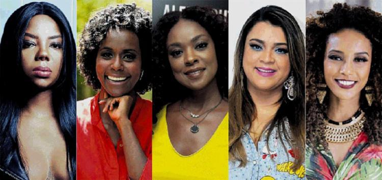 Famosas como Ludmilla, Maria Júlia Coutinho, a Maju, Cris Vianna, Preta Gil e Taís Araújo foram vítimas de racismo - Foto: Reprodução
