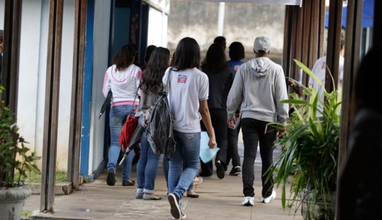 216.044 estudantes se inscreveram para fazer o exame - Foto: Joá Souza | Ag. A TARDE