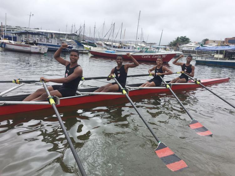 Equipe venceu sete das dez provas do dia - Foto: Divulgação