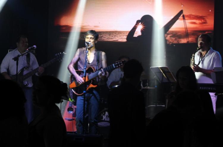 Jonga Lima recebe como convidados os artistas Kalu, Elpídio Bastos e Joaquim Carvalho. - Foto: Anita Onírica   Divulgação