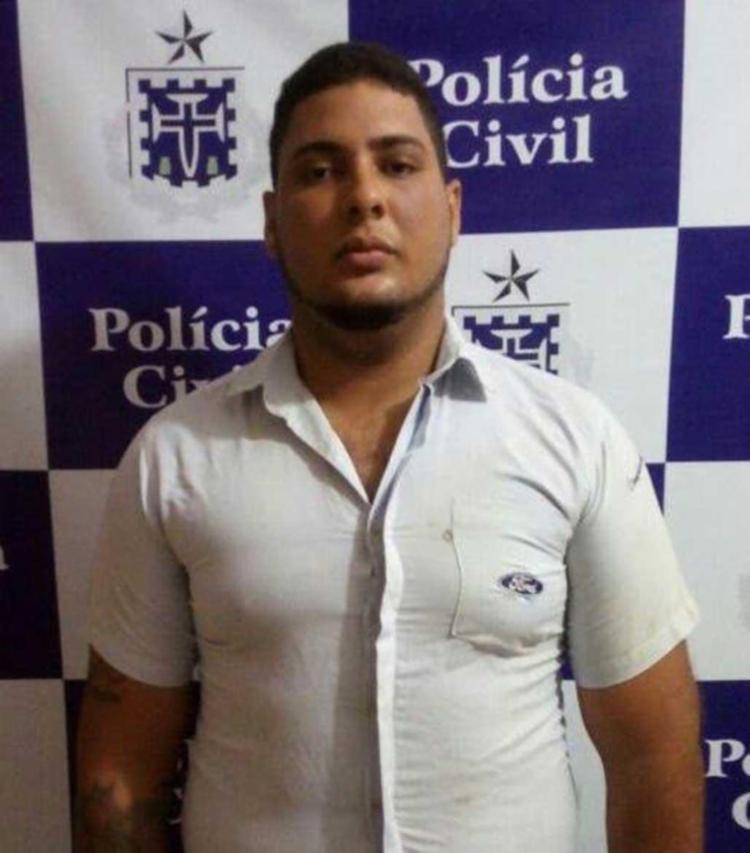 Jadson também é investigado por cometer homicídios na região - Foto: Polícia Civil | Divulgação