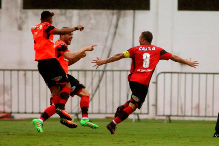 Vitória venceu no domingo e deu um respiro na briga contra o Z-4 - Foto: Edson Ruiz | COOFIAV | EC Vitória