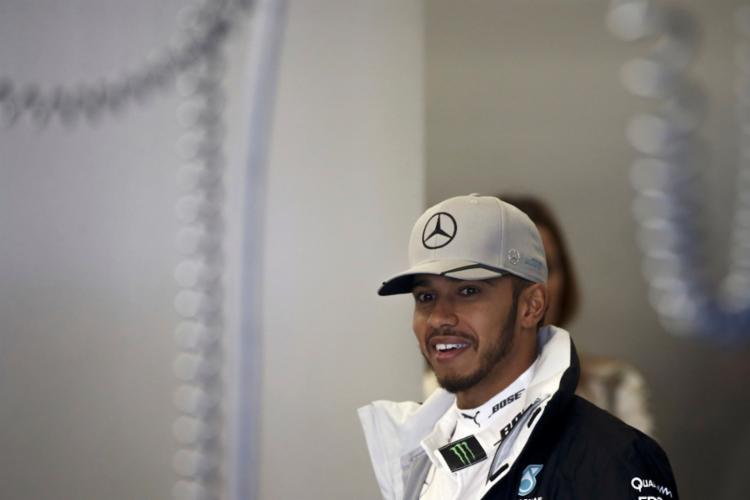 Hamilton ainda está na briga pelo título da F1 - Foto: Adrees Latif   Reuters