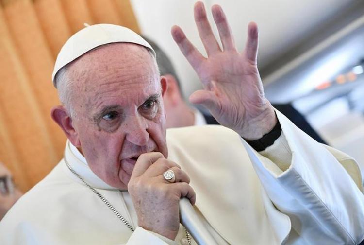 A missa foi a principal atividade do líder católico nesta quarta-feira, 2 - Foto: Ettore Ferrari l Reuters