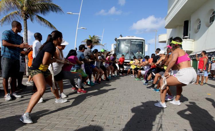O desafio contou com a participação de quatro academias de crossfit - Foto: Elói Corrêa | GOVBA
