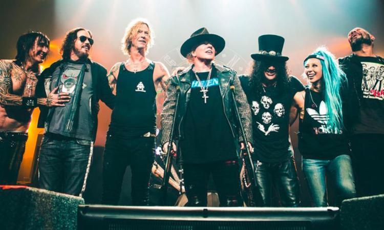 Guns N'Roses se apresenta na noite do dia 23 de setembro - Foto: Divulgação