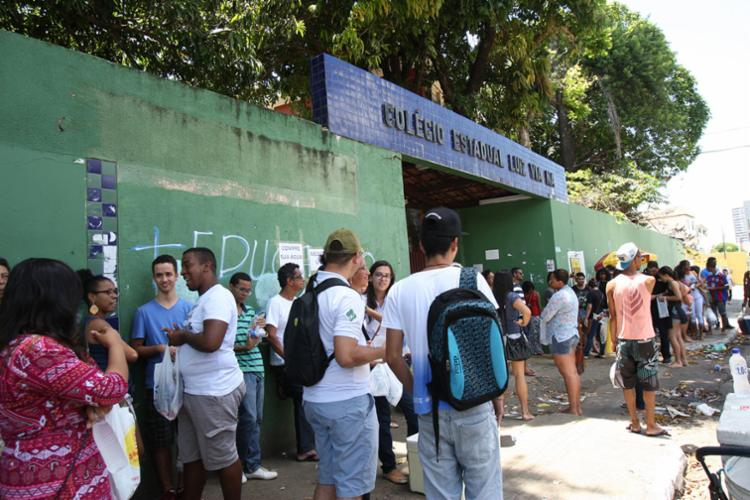 Os candidatos devem acessar o site do INEP para consultar o local da prova - Foto: Margarida Neide | Ag. A TARDE