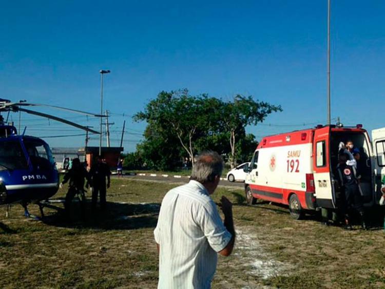 Samu prestou atendimento para as vítimas - Foto: Divulgação | Graer