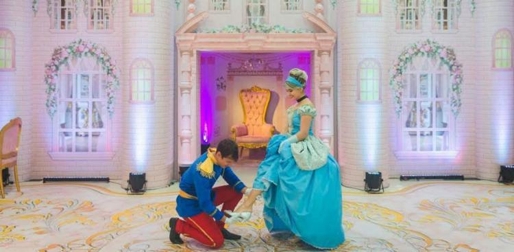 Espaço conta com sala de princesas e heróis - Foto: Rodrigo Mantoan | Divulgação