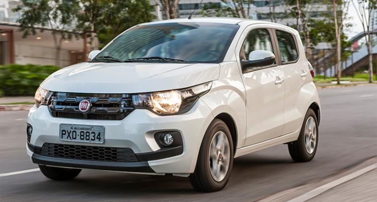 A Fiat garantiu o reforço mecânico no Mobi Drive - Foto: Divulgação FCA Press