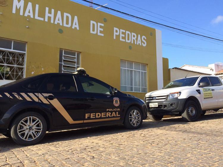 A operação também ocorreu em Alagoinhas, Itagibá, Salvador e São José do Jacuípe - Foto: Divulgação l Polícia Federal