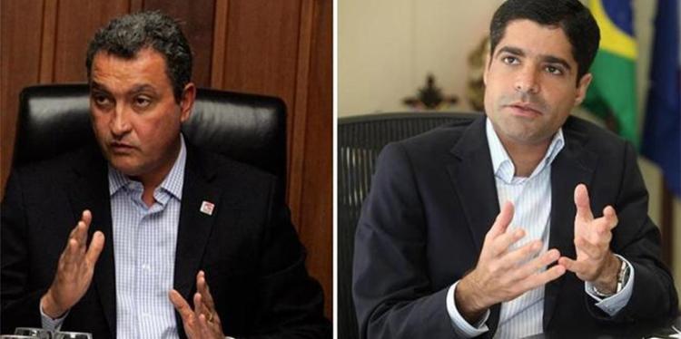 Rui Costa e ACM Neto lamentaram morte de ministro - Foto: Joá Souza e Edilson Lima | Ag. A TARDE