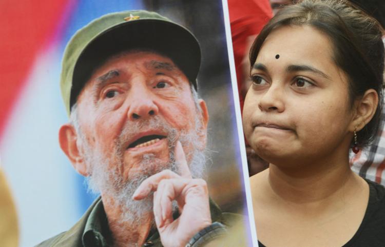 Morte de Fidel repercute no mundo - Foto: Dibyangshu Sarkar | AFP