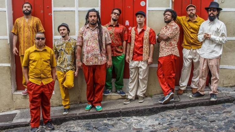 O grupo baiano faz o lançamento oficial do disco no dia 21 de janeiro, no Pelourinho - Foto: Fernando Gomes