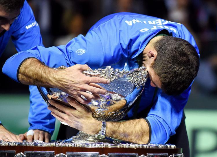 Tenista argentino conseguiu uma reação incrível diante de Cilic - Foto: AFP