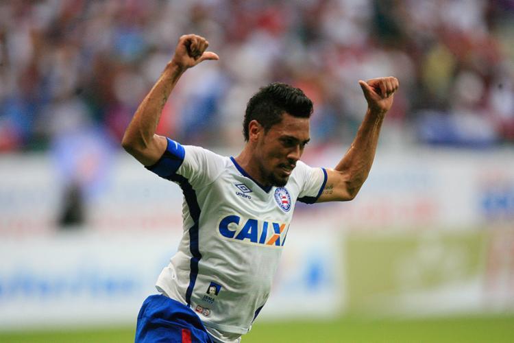 O 'Brocador' tem contrato com o tricolor até o fim de 2018 - Foto: Lúcio Távora l Ag. A TARDE