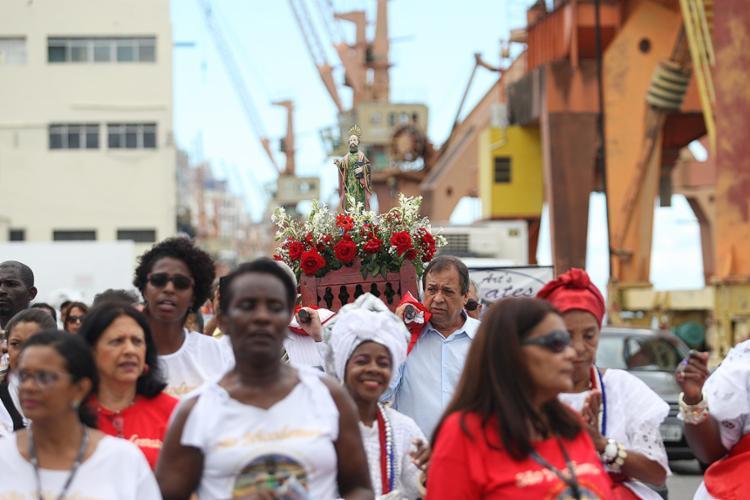 Festa integra empregados e colaboradores da Codeba, usuários, operadores, sindicatos e orgãos afins - Foto: Raul Spinassé l Ag. A TARDE