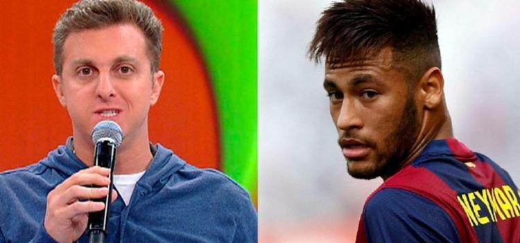 Huck e Neymar também usaram das redes para dar condolências - Foto: Divulgação