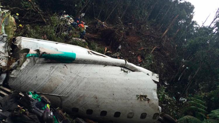 O acidente ocorreu na madrugada desta terça, 29 - Foto: Reprodução | Twitter | AerocivilCol