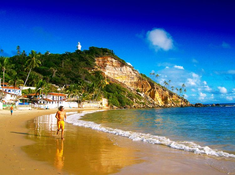 Município estima que Morro de São Paulo recebe 200 mil turistas anualmente - Foto: Prefeitura de Cairu l Divulgação