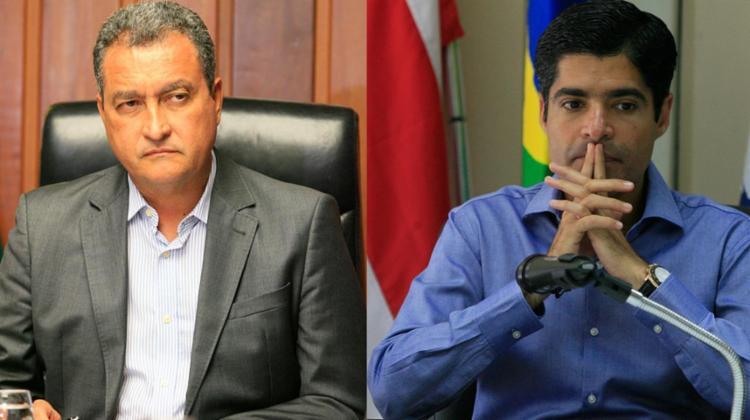 Rui acusa o prefeito de interferir politicamente; Neto alega 'incompetência' do governo - Foto: Luciano da Matta e Adilton Venegeroles / Ag. A Tarde