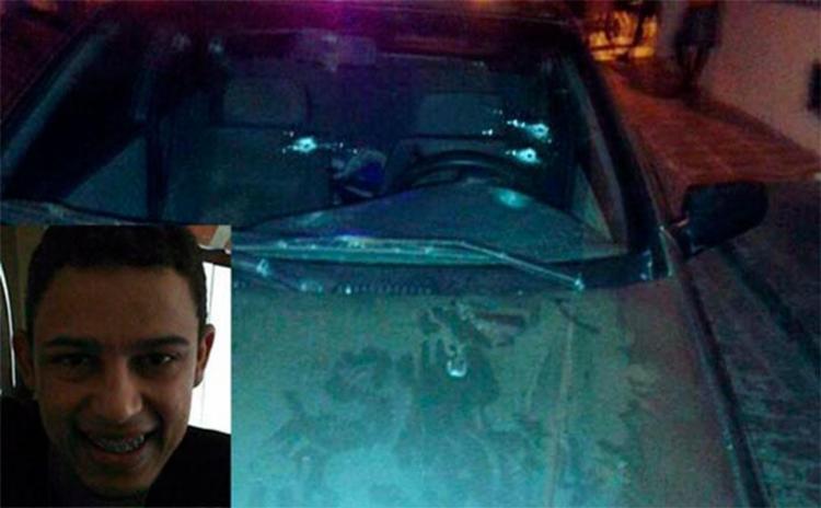 Vítima estava dentro de carro com o filho - Foto: Reprodução | Notícias de Santaluz