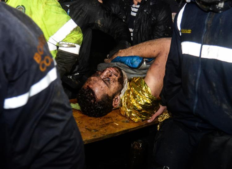 O zagueiro Neto foi o último sobrevivente a ser resgatado - Foto: Raul Arboleda | STR | AFP