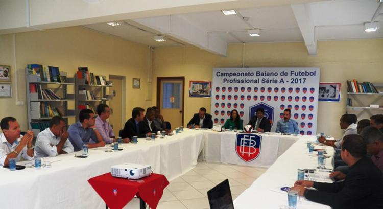 O evento foi realizado na sede da FBF - Foto: Divulgação | FBF