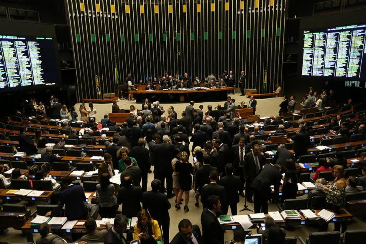 O projeto críticado por entidades como o STF foi aprovado pela Câmara na madrugada desta quarta-feira, 30 - Foto: Fabio Rodrigues Pozzebom l Agência Brasil