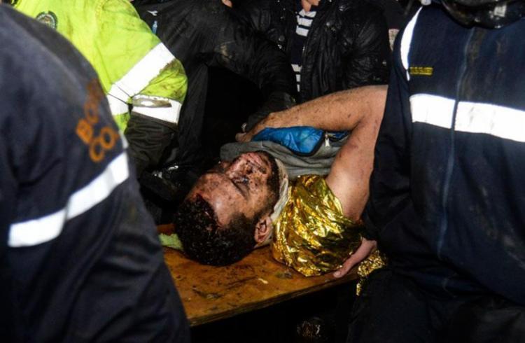Neto foi o último resgatado com vida - Foto: Raul Arboleda | Ag. AFP