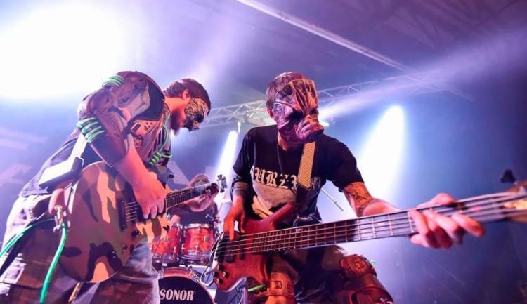 Boargazm é uma banda de heavy metal sul-africana - Foto: Henry Engelbrecht | Divulgação