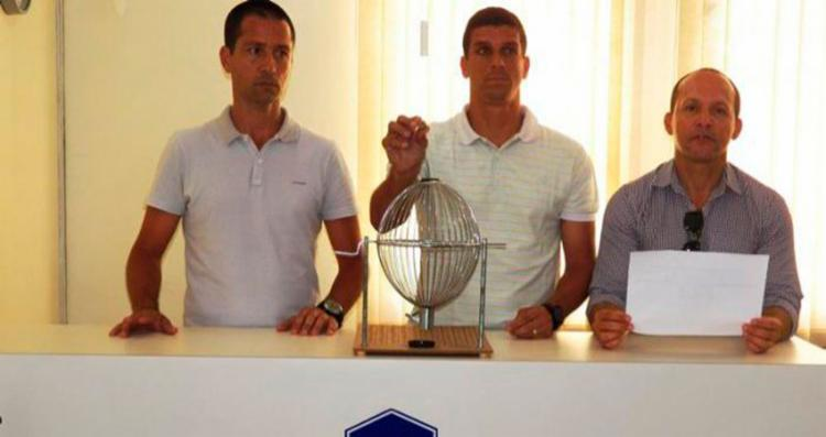 O sorteio aconteceu na terça-feira, 1º - Foto: Divulgação | FBF