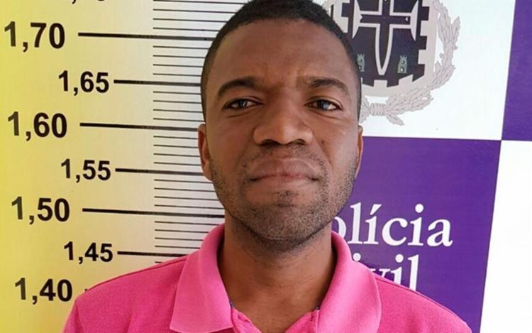 Romilson foi preso por ter matado Henderson em março deste ano - Foto: Divulgação | PC