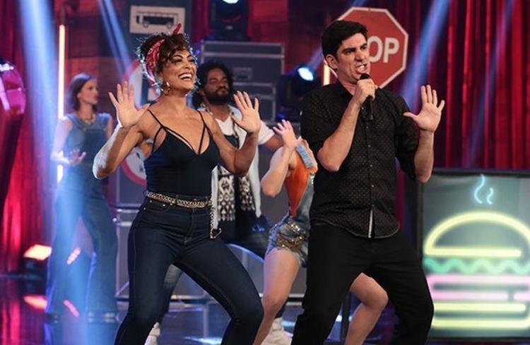 """Atriz participou do """"Adnight"""", da Globo, na madrugada desta sexta-feira, 4 - Foto: TV Globo   Divulgação"""