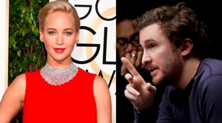 Jennifer Lawrence e Darren Aronofsky - Foto: Divulgação