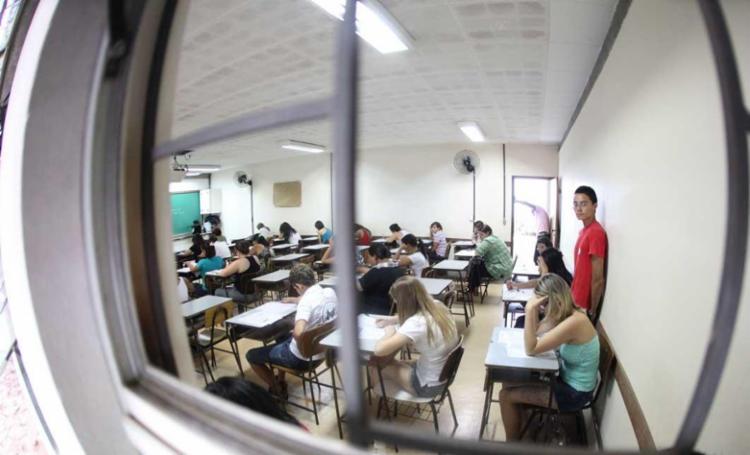 As provas serão aplicadas em dois domingos consecutivos, nos dias 5 e 12 de novembro - Foto: Joa Souza | Ag. A TARDE