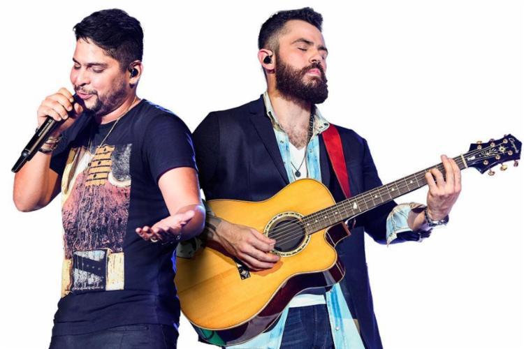 Jorge e Mateus vão se apresentar no domingo - Foto: Divulgação