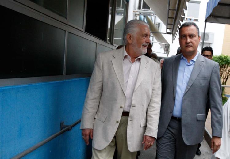 Wagner descartar sua candidatura ao governo e diz que Rui é forte candidato - Foto: Joá Souza | Ag. A TARDE