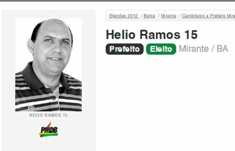 Hélio Ramos está afastado do cargo desde outubro de 2015 - Foto: Reprodução