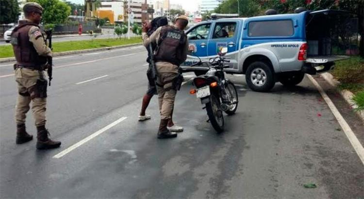 Diego foi reconhecido por policiais que fazia patrulha na Liberdade - Foto: Divulgação | PM