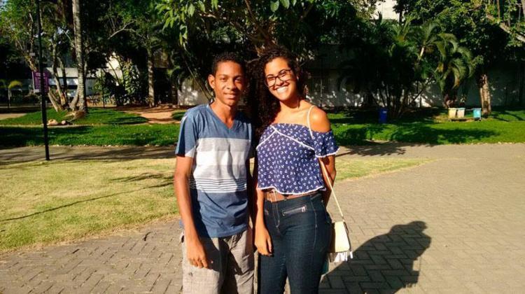 Paulo Sérgio e Paula Cristina fizeram a prova no campus de Ondina - Foto: Jade Giallorenzo   Ag. A TARDE