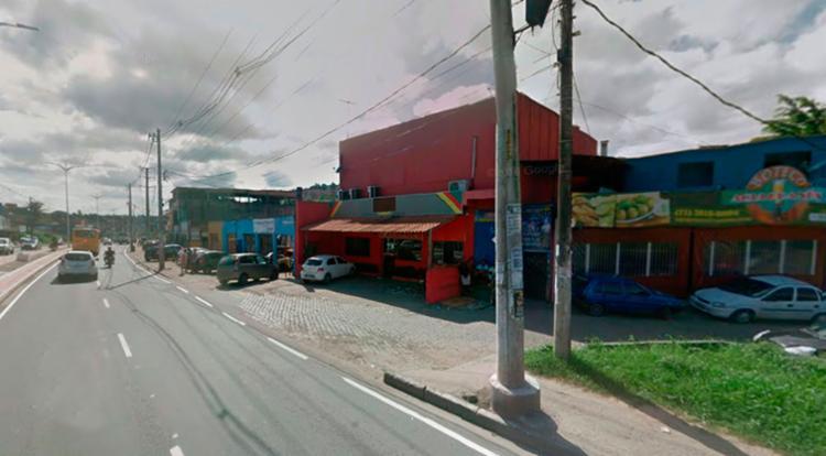 O PM saiu da casa de show para ver uma confusão que acontecia do lado de fora - Foto: Reprodução | Google Maps