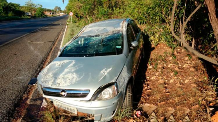 O motorista foi levado por populares para uma unidade de saúde da região - Foto: Reprodução   Sigi Vilares