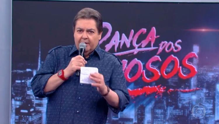 Em rede nacional, o apresentador disse que mulher gosta de tomar porrada - Foto: Reprodução   TV Globo