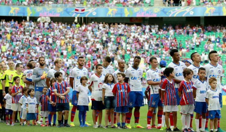 Torcida paga metade do preço dos ingressos no site - Foto: Felipe Oliveira / EC Bahia / Divulgação