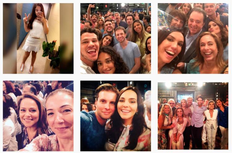 Algumas das fotos postadas nas redes sociais - Foto: Reprodução | Instagram